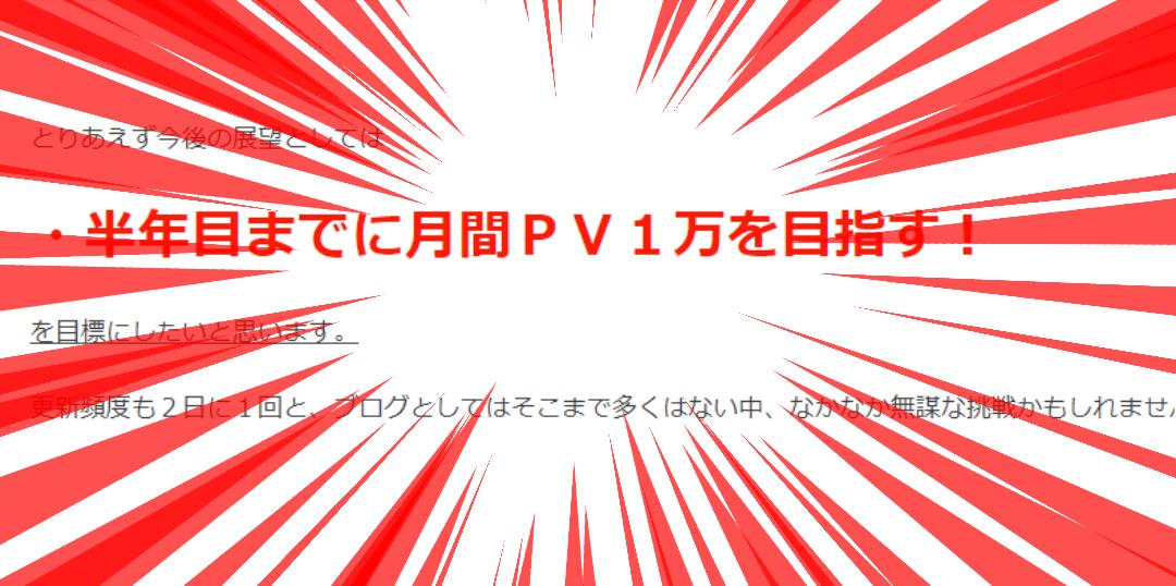 【祝半年】釣りブログ開設6か月目突入!!目標1万PVは達成できたのか