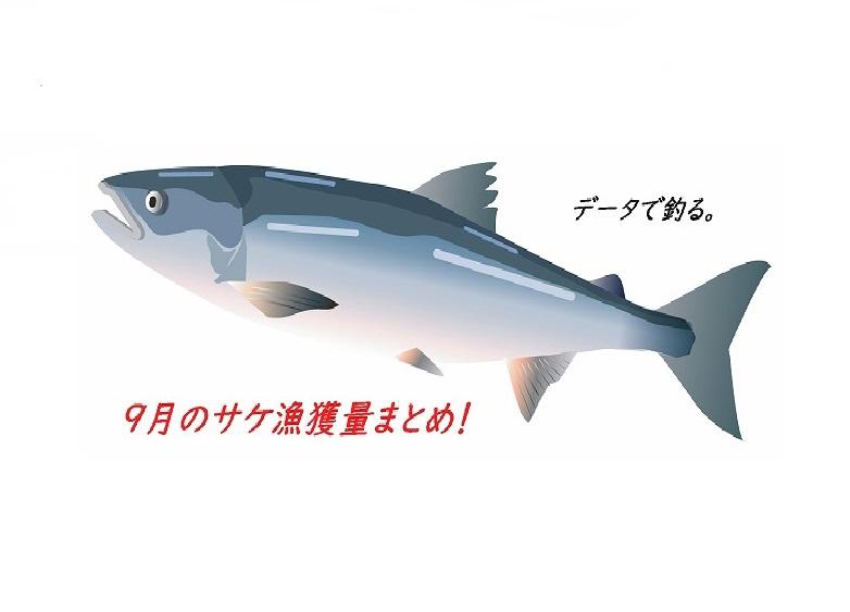 【2018】鮭(アキアジ)釣り場好調ランキング!9月の秋鮭漁獲量から予想してみる。