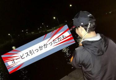 日本海遠征with友人K君。オービス光り、鮭釣れる。