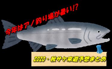 【2020年鮭釣り】釣れるのはずばりココ!?秋サケ(アキアジ)来遊予想まとめ