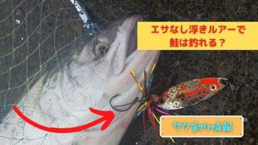 【鮭釣り】浮きルアーってエサ無しじゃ釣れないの?生エサの代用品もご紹介!