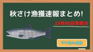 【鮭釣り】秋さけ漁獲速報更新。今、鮭釣り場も釣れているのはこの2ヶ所!?